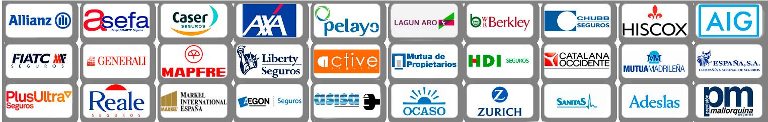 Principales compañías aseguradoras